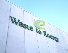Letras corporeas Waste to energy